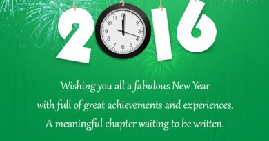GCC Exchange New Year Wishes 2016