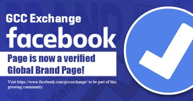 GCC Exchange Facebook page is now a Verified Global Brand page!