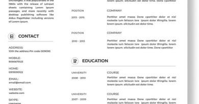 Download Resume Templates - Make Your Perfect CV