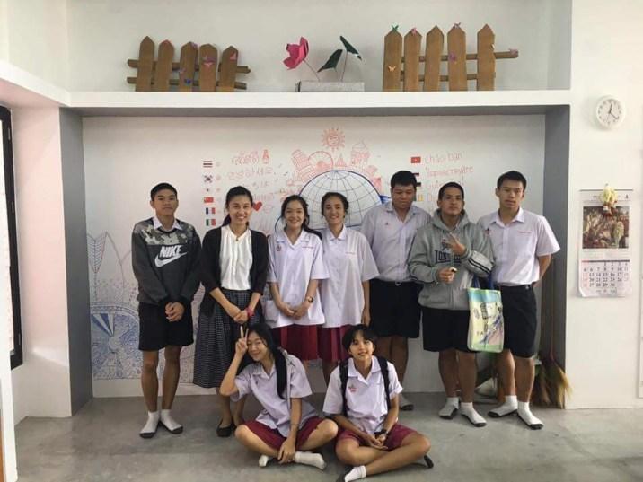 於中文課堂與中六學生討論聖經