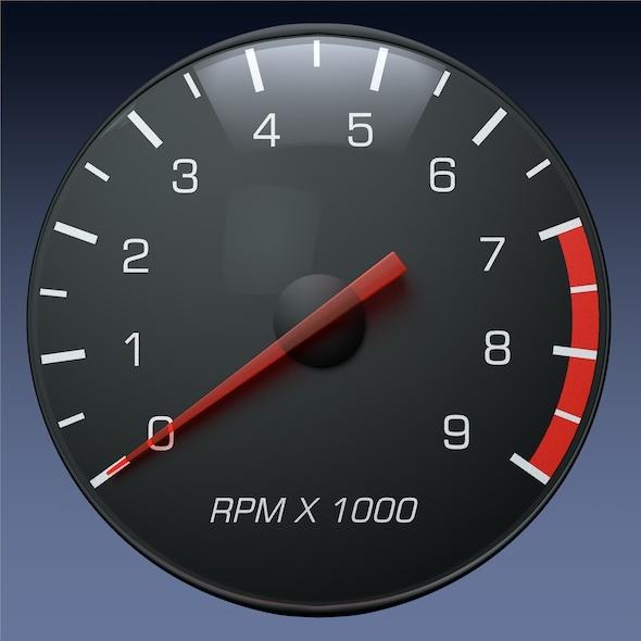 Tachometer 590x590