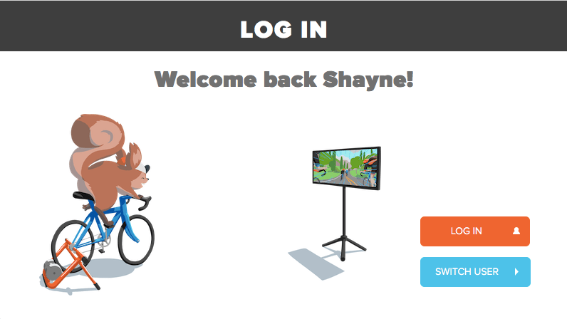 Zwift Log In