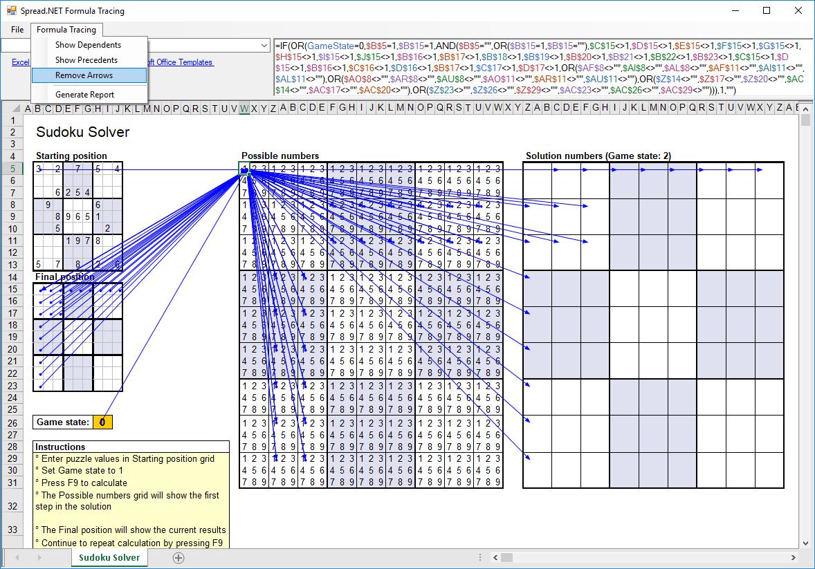 Spread 12 Windows Forms Calculation Part 4