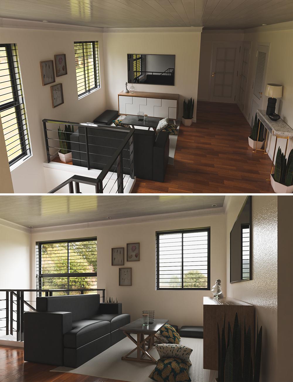 Avil Family Room by: Tesla3dCorp, 3D Models by Daz 3D