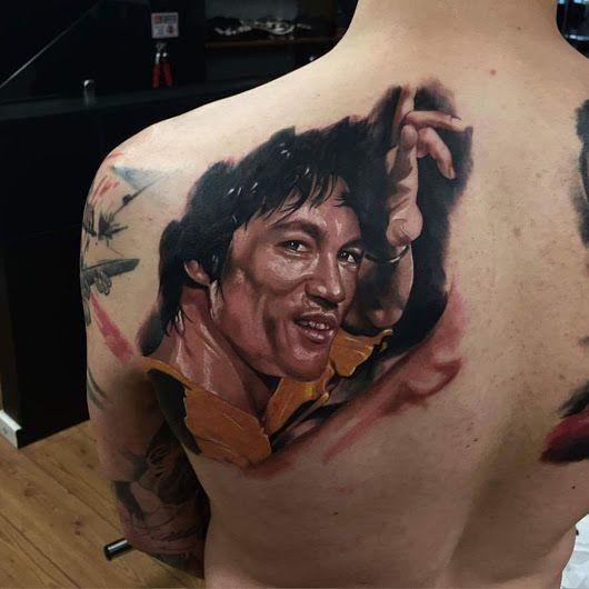 tatuajes Bruce Lee