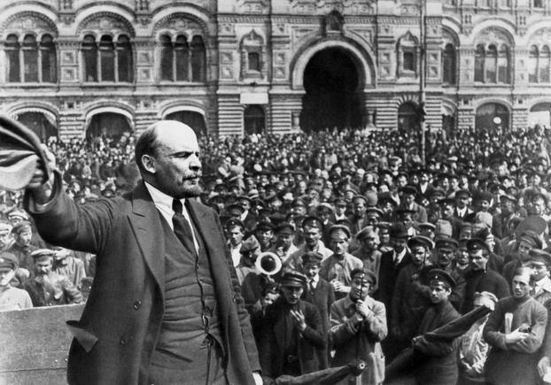 Vladímir Ilich Uliánov, alias Lenin, uno de los artífices de la revolución rusa.