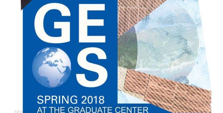 Spring 2018 GEOS Colloquium Series