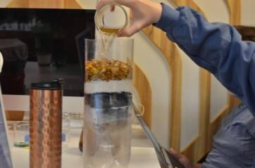 Making contaminated water potable