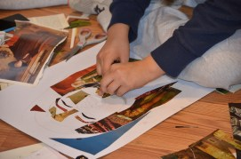 A sneak peek at the portrait collages currently in the works.