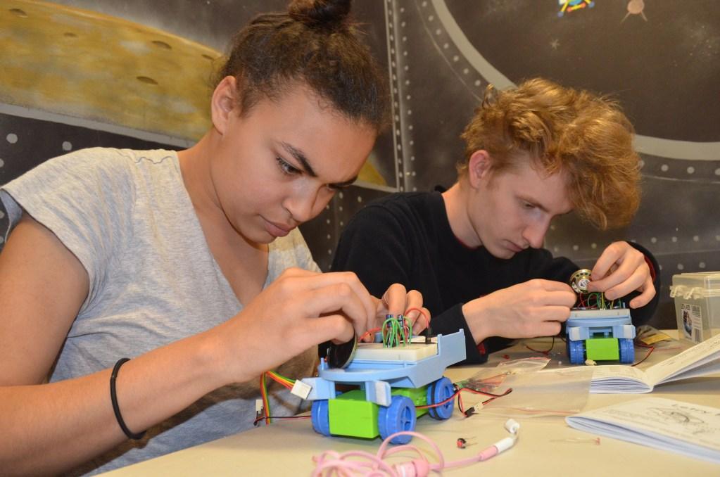 Circuit Training @ Robot City Workshop