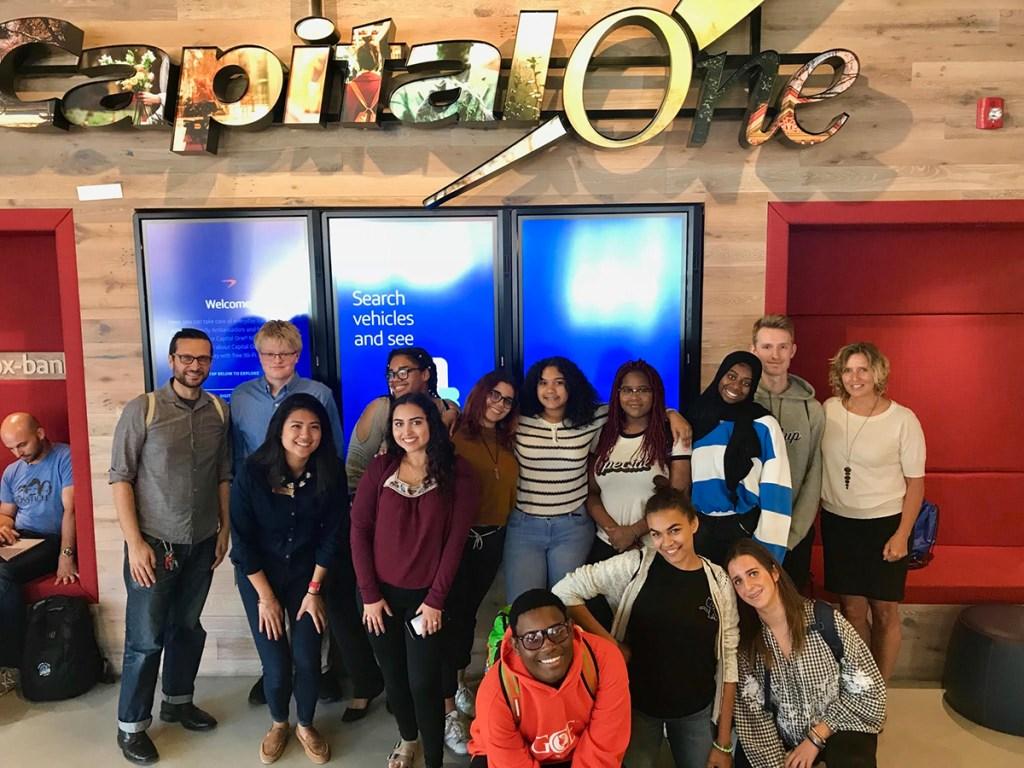 Assessing Risk @ Capital One Café