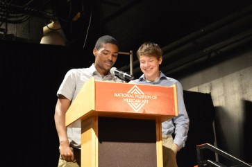 Our MCs, Marcellus & Zak.