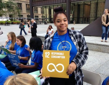 GCE student with UN SDG12