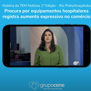 Cenemed na TV Tem – Aumenta a procura por equipamentos hospitalares