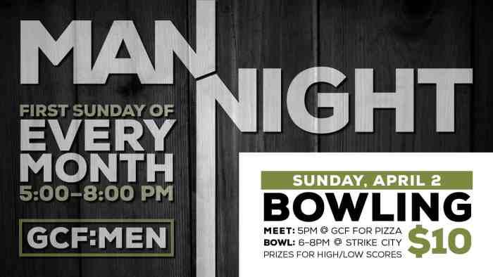 MAN Night Bowling
