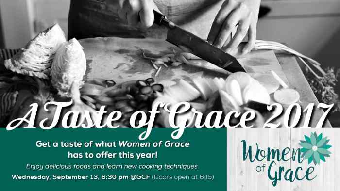 Taste of Grace 2017