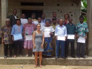 graduation cerimony at Bombe Bakundu Community