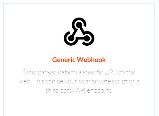Click Generic Webhook