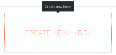 Create New Inbox In Mailparser.io