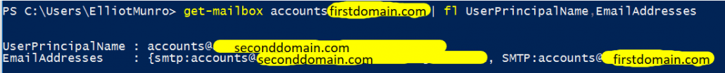 UserPrincipalName And EmailAddresses Are Wrong