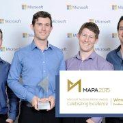 Ozbizweb Group win MAPA Award
