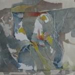 """Ghost Dancer, 17x15"""", collagraph by Garry C Kaulitz"""