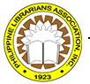 Logo of the Philippine Librarians Association, Inc., or PLAI