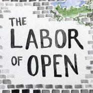 Labor of Open zine cover