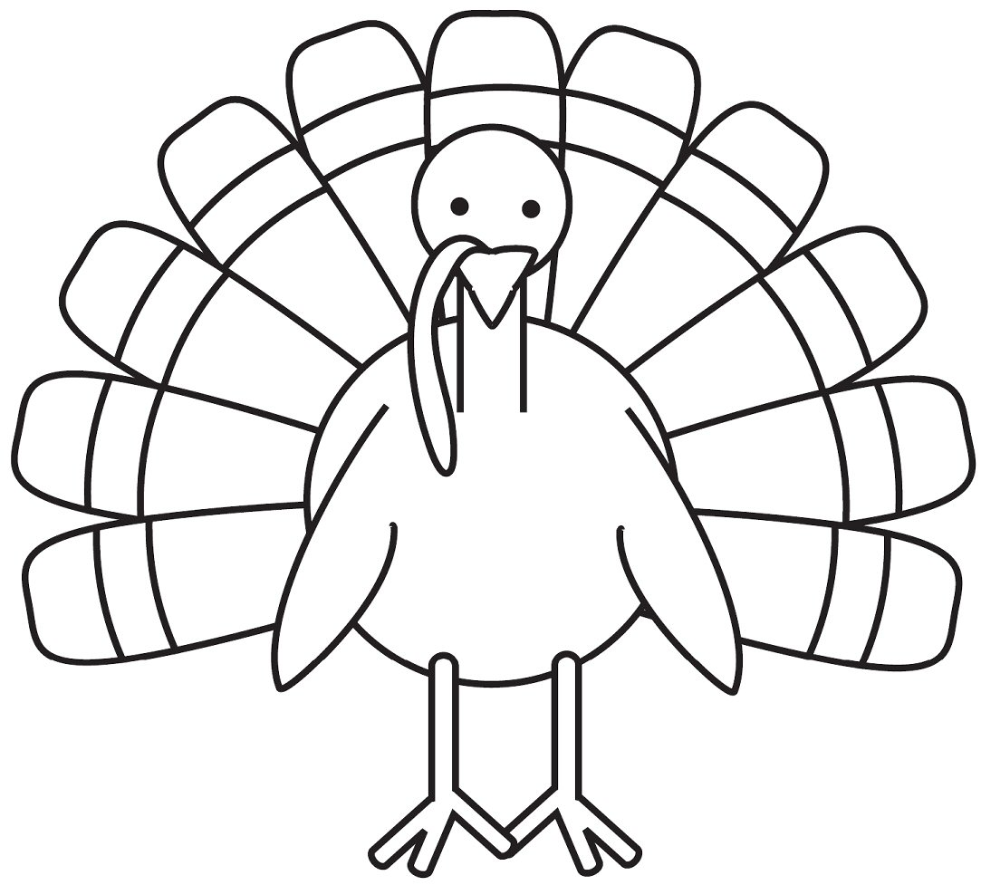 Turkey Clipart Black And White Gclipart