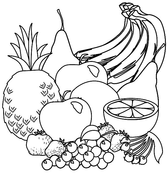 Clip Drive Art And Vegetables Food Fruit