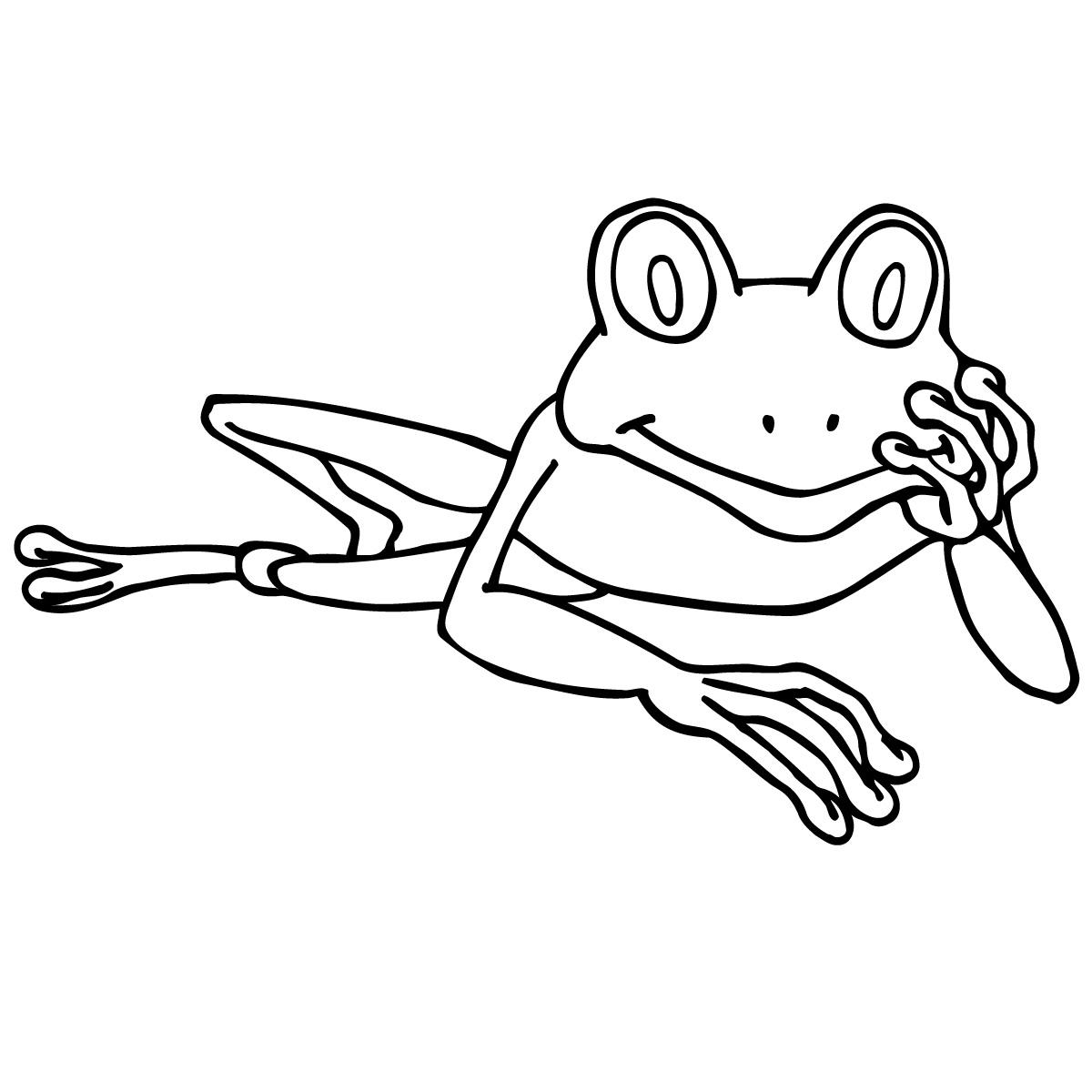 Frog Black And White Tree Frog Clipart Photos Gclipart