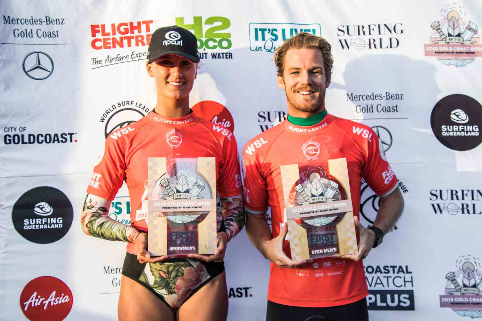 Billy Stairmand and Kirra-Belle Olsson Win 2019 Gold Coast Open Pres. by Flight Centre