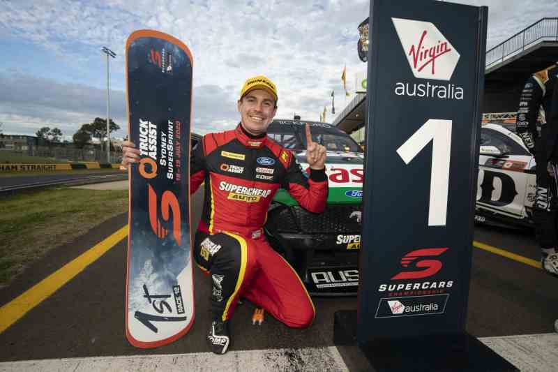 Jack Le Brocq wins first ever Supercars race