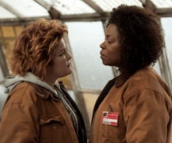 Red (Kate Mulgrew) meets her match with new inmate Vee (Lorraine Toussaint)