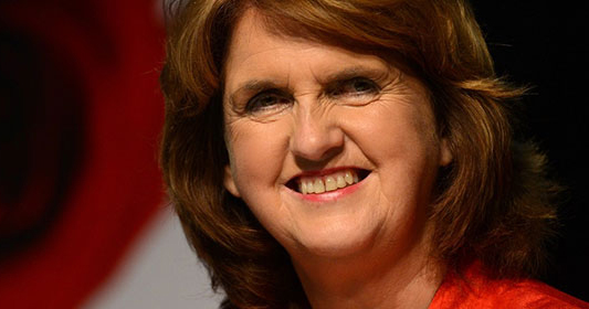 Tánaiste and Minister for Social Protection Joan Burton who signed the commencement order of the gender recognition act