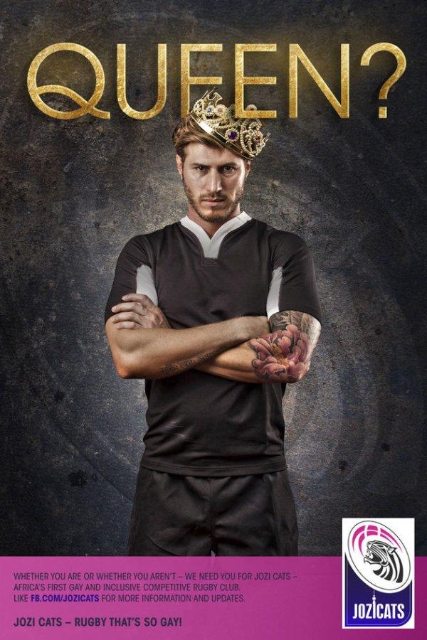 rugby, queen