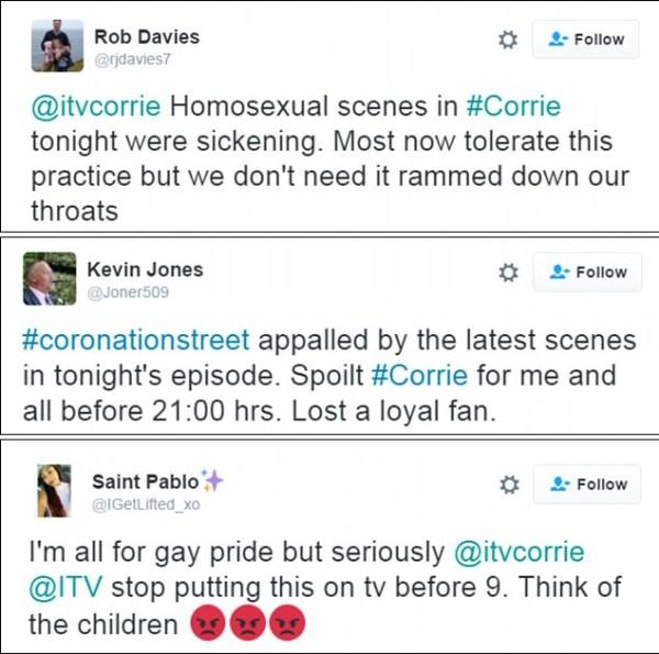 corrie tweets