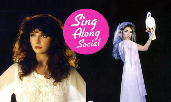 Stevie Nicks and Kate Bush for MVP's Halloween Sing Along Social which is one of the Halloween Parties for LGBT people in Dublin