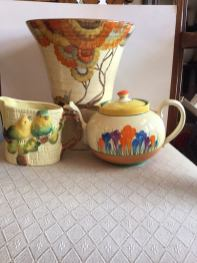 the national antiques art and vintage fair teapots and vases