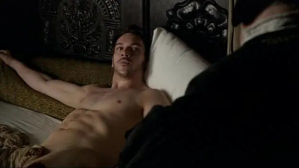 Jonathan Rhys Meyers naked in the Tudors, as one of the sexiest irish actors