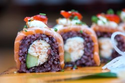 Sushi rolls from Yamamori Sushi, who's manager Graham Ryan we interviewed in this month's Amuse Bouche