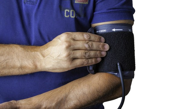 A person getting tested for blood pressure in GCN's guide on where tof buy PrEP online