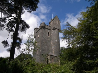 A stone tower which is one of the Irish Landmark Trust venues - the same Irish Landmark Trust who has a Valentine's Giveaway