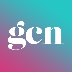 The new pink and blue gcn app icon