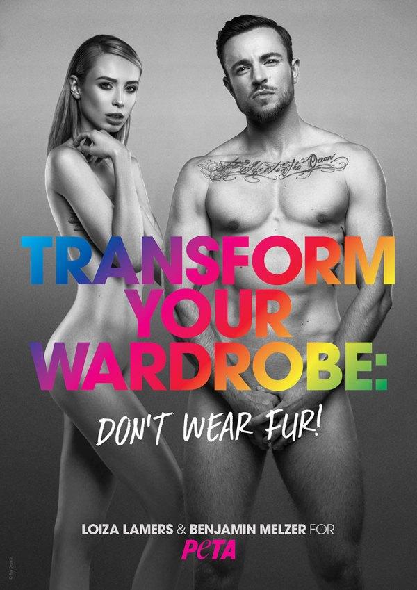Trans models naked