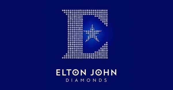The new album from Elton John called Diamonds with an E letter with a star made out of diamonds