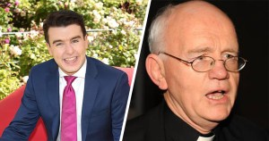 Split screen image: Al Poter is shown on the left and a picture of Eamonn Walsh is on the right