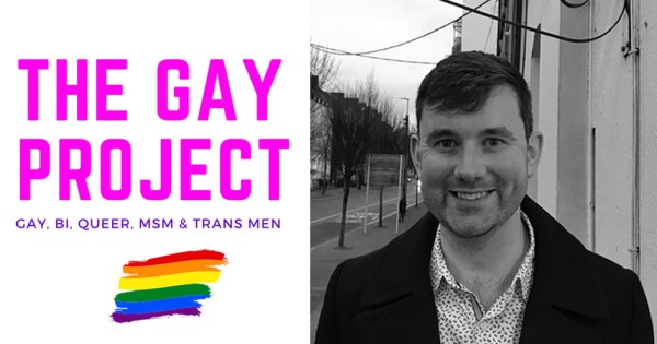 Get To Know The New Coordinator Of The Gay Cork Project , portrait of Pádraig Rice