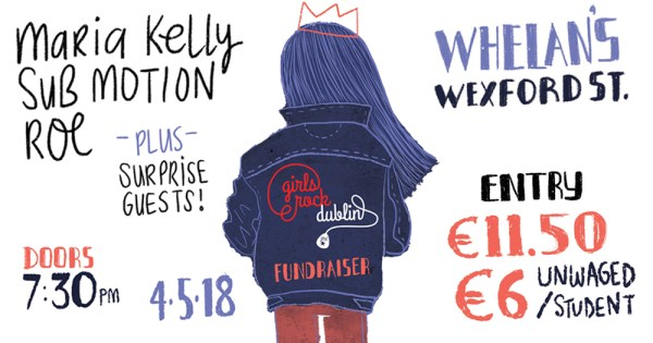 Girls Rock Dublin Fundraiser
