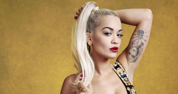 Singer Rita Ora